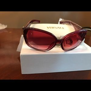 NWT Versace Subglasses with Case